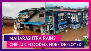 Maharashtra Rains: Chiplun Flooded, NDRF Deployed As Highways Inundated, Trains Halted
