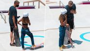13-Year-old Rayssa Leal Chats With Skateboarding Legend Tony Hawk Ahead Of Her Olympic Debut At Tokyo 2020