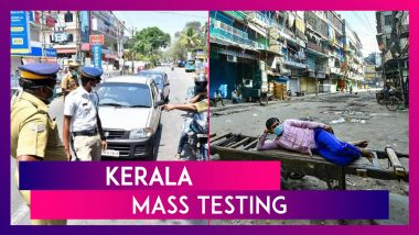 Kerala Mass Testing: Target Of 3 Lakh Tests Per Day Ordered, Complete Lockdown On Weekend