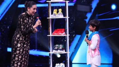 Super Dancer Chapter 4: Karisma Kapoor Gifts 5 Pairs of Shoes to Contestant Pruthviraj on the Reality Show