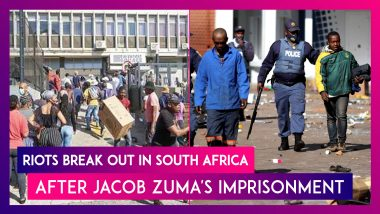 South Africa: Riots Break Out After Jacob Zuma's Imprisonment