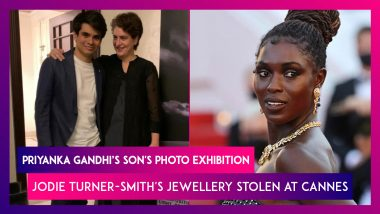 Priyanka Gandhi Vadra Is A Proud Mom At Son's Photo Exhibition; Jodie Turner-Smith's Jewellery Stolen At Cannes