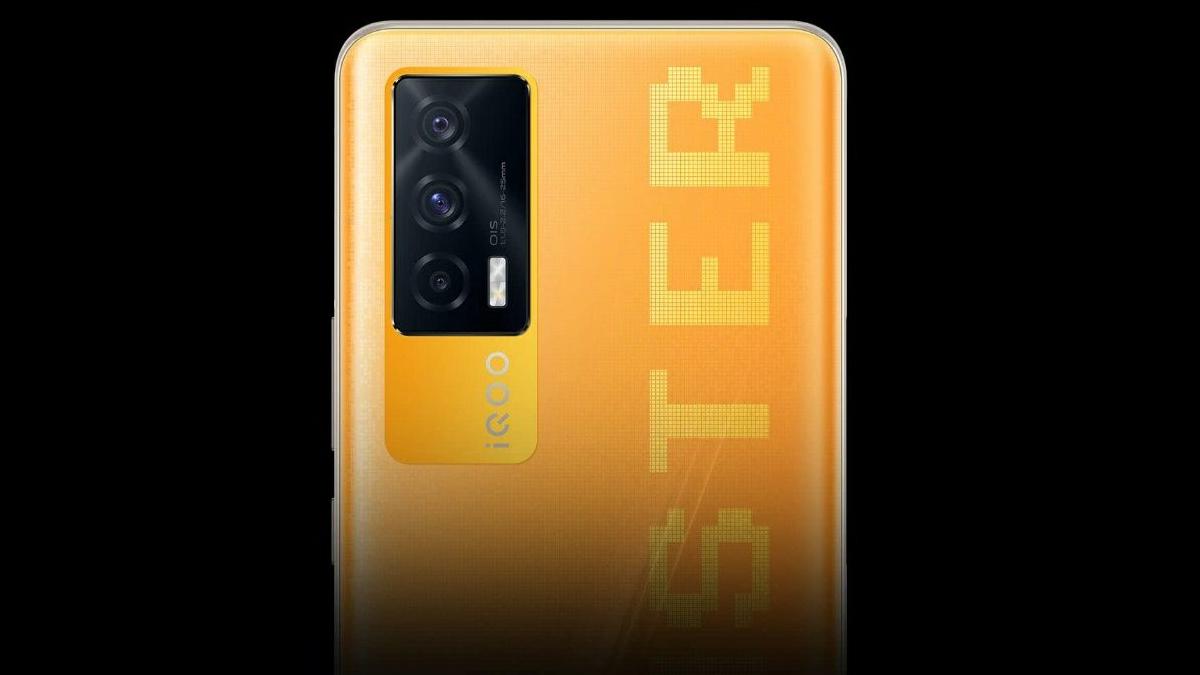 iQoo 7 Monster variante colore arancione
