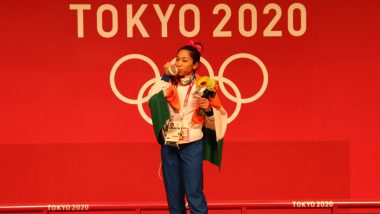 Mirabai Chanu Reacts After Winning Historic Weightlifting Silver Medal in Tokyo Olympics 2020, Says 'Dream Come True for Me'