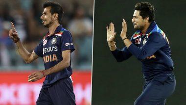 KulCha Is Back: Netizens React to Kuldeep Yadav and Yuzvendra Chahal's Splendid Performance in India's 1st ODI Against Sri Lanka