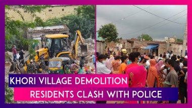 Khori Village: Supreme Court Ordered Demolition Drive Begins, Residents Clash With Police