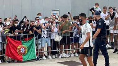 Cristiano Ronaldo Returns to Juventus Training Ahead of 2021–22 Season