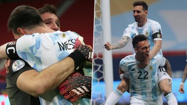 Lionel Messi Reacts As Argentina Secure Copa America 2021 Final Berth (See Post)