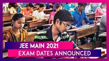 JEE Main 2021 Exam Dates: Education Minister Ramesh Pokhriyal Announces New Dates, Application Process Begins