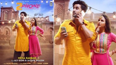 2 Phone: Aly Goni and Jasmin Bhasin's Upcoming Track To Be Out on July 28 (View Poster)