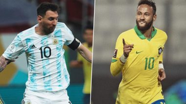 Lionel Messi and Neymar Picked as Best Players at Copa America 2021