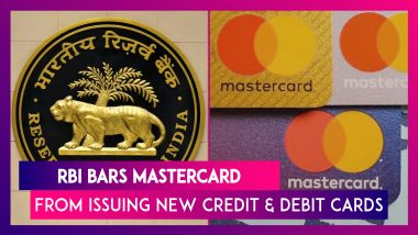 RBI Orders Mastercard To Stop Issuing New Credit And Debit Cards From July 22; Know Why