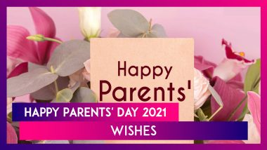 Parents' Day 2021 Messages: Wish Your Mother and Father With WhatsApp Greetings, Quotes & HD Images