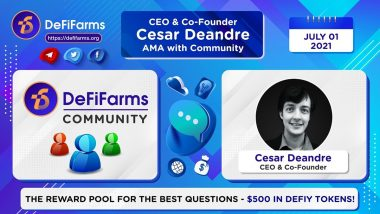 Innovative DeFi Ecosystem is Disrupting the Industry With NFT-Enhanced Yield Farming