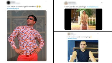 #MemeOlympics Goes Viral on Twitter After Netizens Pick Gold Medal Winners From Hilarious Memes and Jokes
