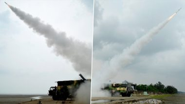 DRDO Successfully Test-Fires Akash-NG Surface to Air Missile in Odisha's Balasore
