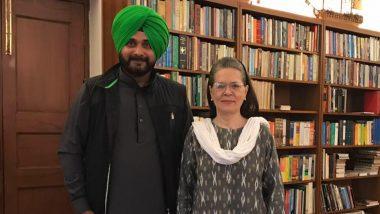 Navjot Singh Sidhu Appointed As Punjab Pradesh Congress President By Sonia Gandhi