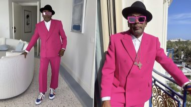 Spike Lee Looks Dapper in Powerful Pink Suit at Cannes Film Festival 2021 (View Photos)