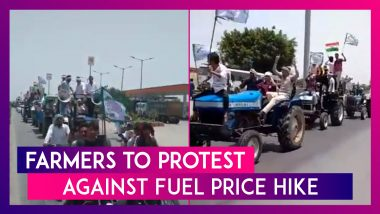 Farmers To Protest Against Fuel Price Hike, Large Contingents Arrive At Protest Sites