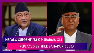 Nepal's Current PM K P Sharma Oli Ordered To Step Down By Country's Supreme Court, Sher Bahadur Deuba To Replace Him