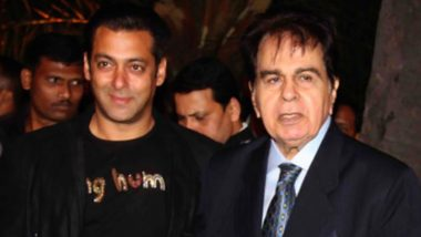 RIP Dilip Kumar: Salman Khan Pays Heartfelt Tribute to the Late Legend, Says 'Best Actor Indian Cinema Has Ever Seen and Will Ever See'
