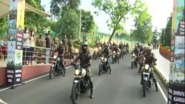India News | Army Organises Motorcycle Rally to Commemorate Kargil Vijay Diwas