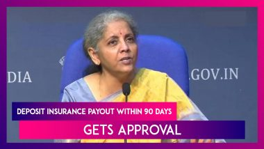 Deposit Insurance And Credit Guarantee Corporation Bill 2021: Deposit Insurance Payout Within 90 Days Gets Approval