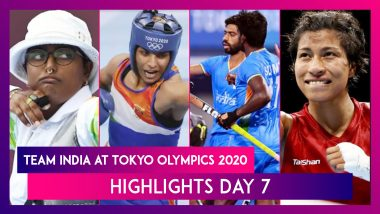 Team India at Tokyo Olympics 2020, Highlights And Results of July 30