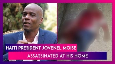 Haiti President Jovenel Moise Assassinated At His Home In Port-Au-Prince, Wife Survives Midnight Attack