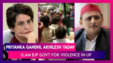 Priyanka Gandhi Tweets Videos Of Violence In UP During Filing Of Block Papers, Akhilesh Yadav Slams BJP Govt