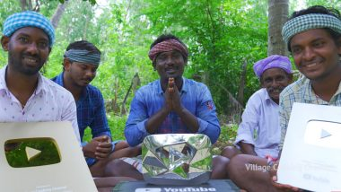 Village Cooking Channel Gets YouTube Diamond Play Button for Reaching 10 Million Subscribers; Netizens Pour In Congratulatory Messages (Watch Unboxing Video)