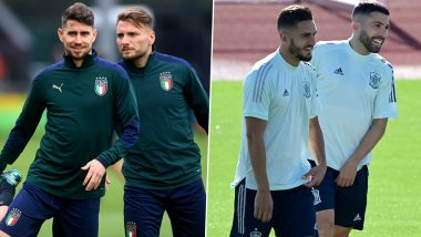 Italy vs Spain, Euro 2020: Head-to-Head Record, Team News And Other Things To Know Ahead of Semi-Final Encounter