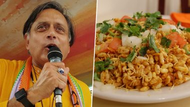 'Bhel Puri in Shashi Tharoor Style': Congress MP Shares Mind Tickling English Definition of Famous Street Food (Read Here)