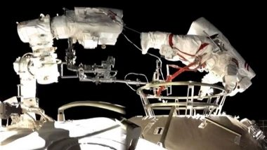 Chinese Astronauts Conduct First Spacewalk Outside New Space Station