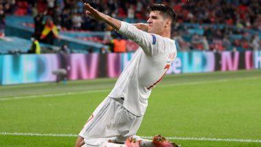 Euro 2020: Alvaro Morata Joins Cristiano Ronaldo and Overtakes Fernando Torres With Goal In Spain's Semi-Final Loss To Italy