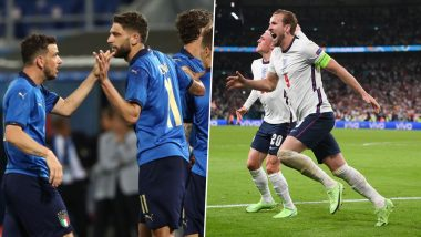 Italy vs England, Euro 2020: A Look At Head-to-Head Record Between Two Teams Ahead of European Championship Finals