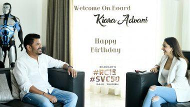 Kiara Advani to Reunite With Ram Charan For Shankar's Next; Makers Announce on Actress' Birthday