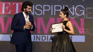 Shehnaaz Gill Honoured With Promising Fresh Face Award at 2021 ET Inspiring Women Award Ceremony