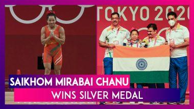 Saikhom Mirabai Chanu Wins Silver Medal In The Women's 49kg Category At Tokyo Olympics 2020