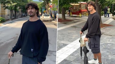 Vidyut Jammwal Says He Is Counting His Rainbows Not Thunderstorms, Actor Shares His Charming Casual Look (See Pics)