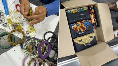 Heroin Worth Rs 7 Crore Concealed in Bangles From Africa Seized at IGI Airport in Delhi