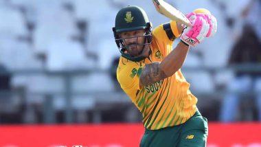 Faf Du Plessis Praises Tabraiz Shamsi, Quinton De Kock After South Africa Win T20I Series Against West Indies