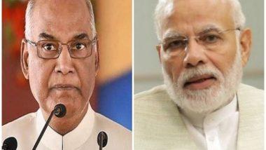 Virbhadra Singh Dies at 87: President Ram Nath Kovind, PM Narendra Modi Condole Demise of the Congress Leader