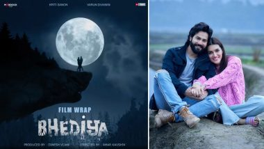 Bhediya: It's a Wrap for Varun Dhawan and Kriti Sanon-Starrer; Flick To Release in Theatres on April 14, 2022!