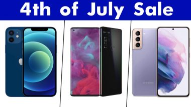 Fourth of July 2021 Sale: Discounts on Apple iPhone 12, Galaxy S21 Ultra, Motorola Edge & Other Smartphones