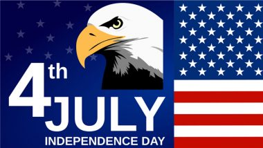 Happy 4th of July 2021 Images & HD Wallpapers for Free Download Online: Celebrate US Independence Day With WhatsApp Messages, Quotes and Greetings