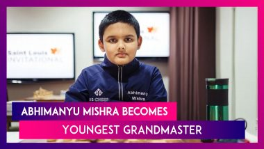 Abhimanyu Mishra Becomes Youngest Grandmaster In Chess History, Dethrones Sergey Karjakin