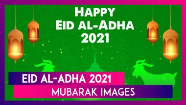 Eid al-Adha 2021 Images & WhatsApp Messages: Greetings, Wallpapers and Quotes To Send on Bakrid