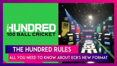 The Hundred 2021: All You Need To Know About ECB's New Format