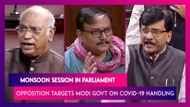 Monsoon Session In Parliament: Opposition Targets Modi Government On Covid-19 Handling, Deaths In Rajya Sabha